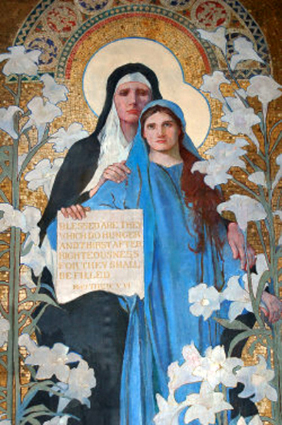 Saint Ann And The Virgin (Saint Ann's Catholic Church, Washington, D.C.)