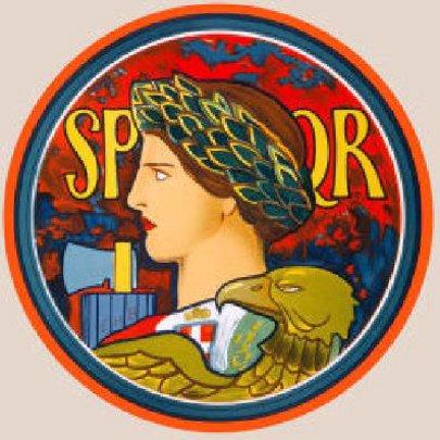 SPQR, Emblem Of Italy