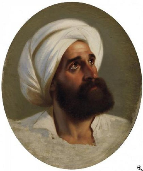Bearded Man With Turban