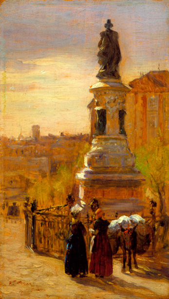 Landscape With Monument, Madrid