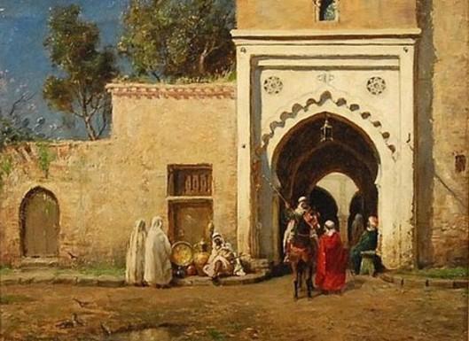Outside Front Entrance Algiers