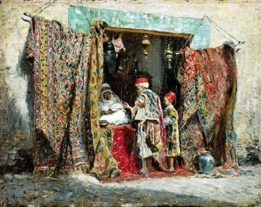Rug Shop, Algiers