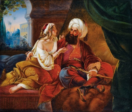 The Pasha's Favourite (Ali Pasha And Kira Vassiliki)