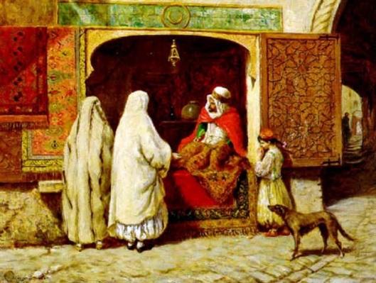 The Rug Merchant, Algiers