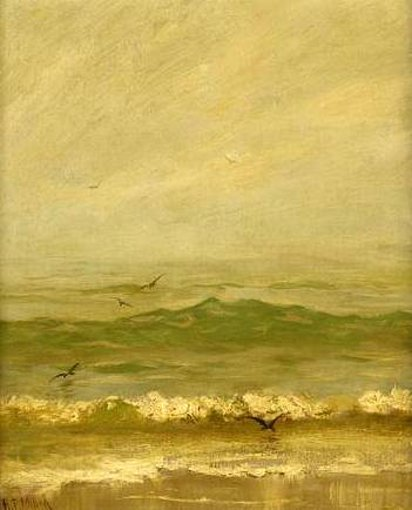 The Sea, Gray Day