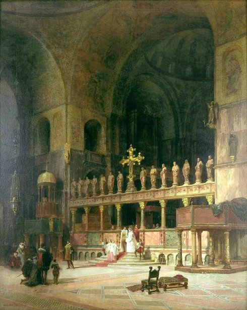 Interior Of St. Mark's, Venice
