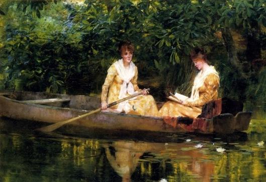 Women In A Rowboat