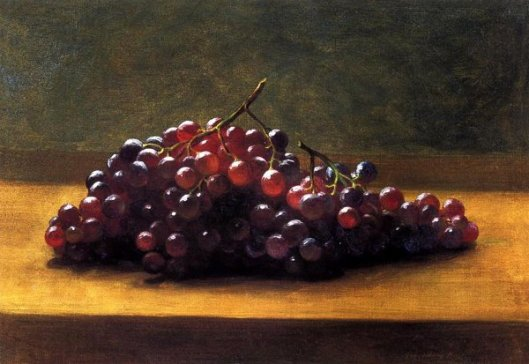 Grapes On A Tabletop