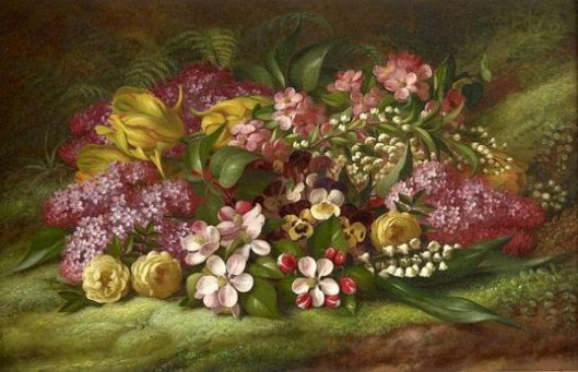 Spring - Still Life With Flowers