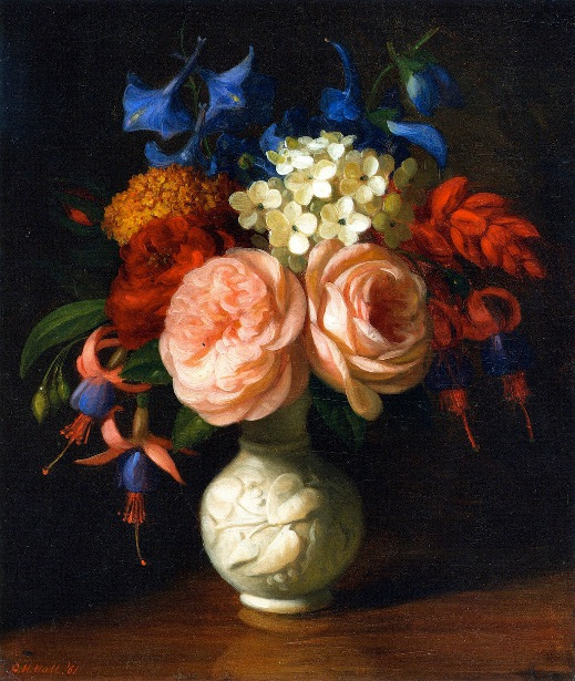 Still Life With Flowers - Red Roses