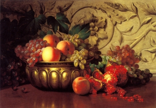 Still Life With Pomegranate