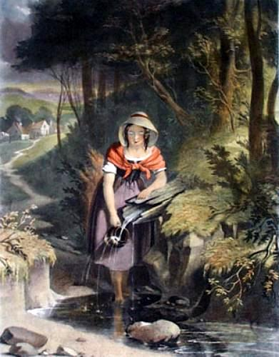 The Girl At The Brook