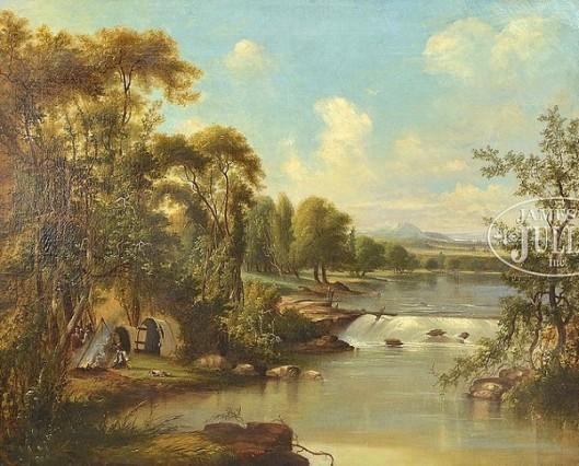 Encampment By A River
