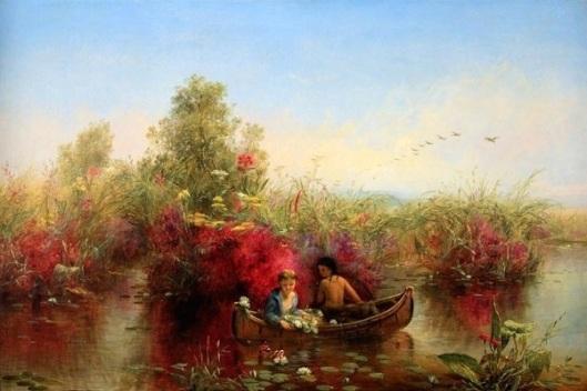 Gathering Waterlilies