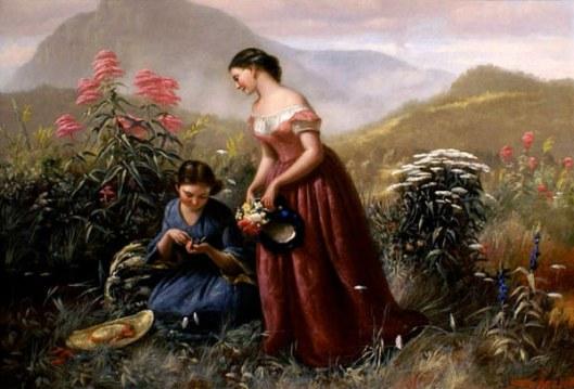 Gathering Wildflowers