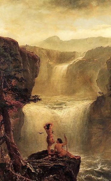 Hiawatha And Minnehaha On Their Honeymoon