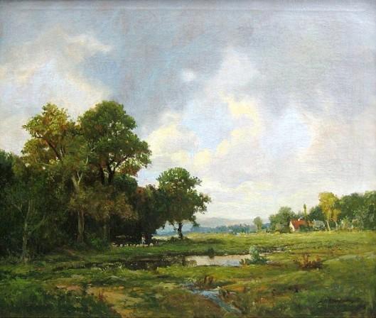 THOMPSON Jerome B. | AMERICAN GALLERY - 19th Century | 529 x 448 jpeg 87kB