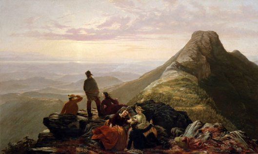 The Belated Party On Mansfield Mountain