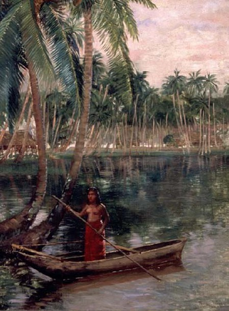 A Lagoon In Safuni, Savaii, Samoa