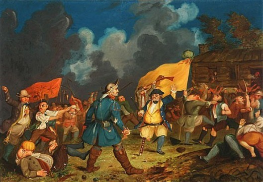 An Incident In The Life Of Peter Stuyvesant, From The Knickerbocker's History