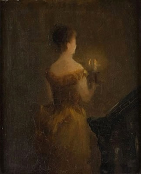 Julia E. Dunn - Candlelight (1918) vedi 19th