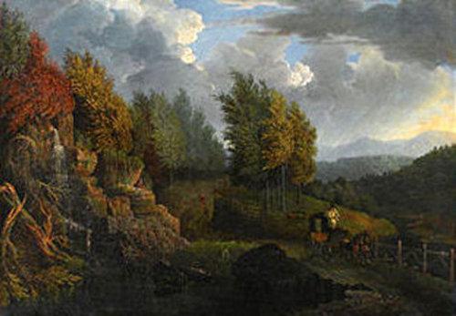 Landscape With Coach