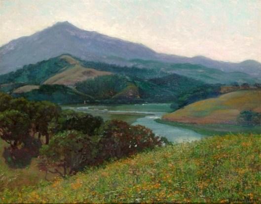 Mt. Tamalpais From Corte Madera Creek