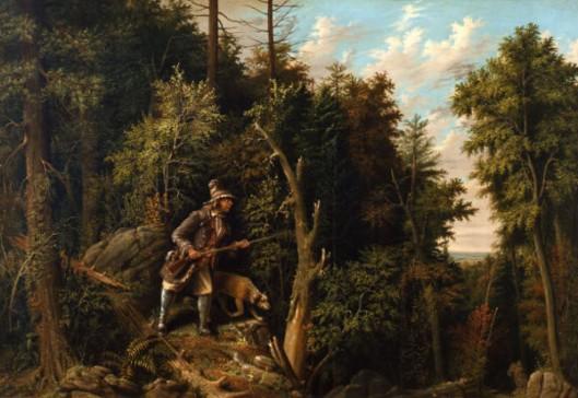 Rip Van Winkle In The Mountains