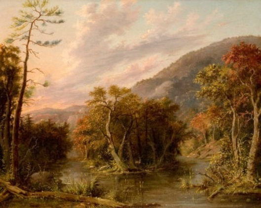 Round Top Mountain From The Shinglekill Falls