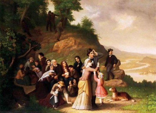 Harper's Ferry - The Waiting Crowd