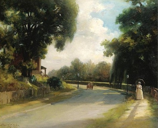 Afternoon On The Avenue