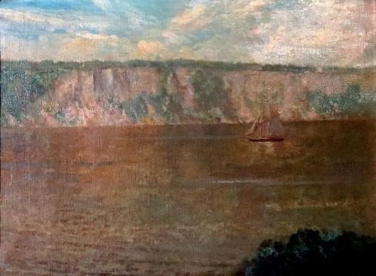 Palisades Along The Hudson River