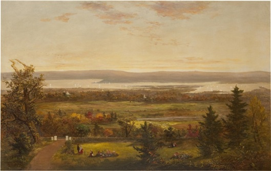 Autumn Along The Hudson