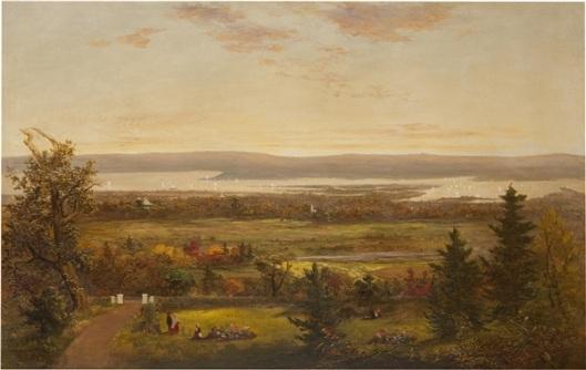 Autumn Along The Hudson