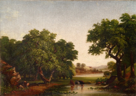 Pastoral Scene Near The Croton River