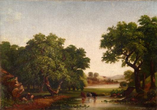 Pastoral Scene Near The Croton River