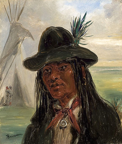 A Choctaw Man In Louisiana