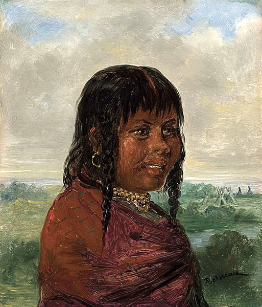 A Choctaw Woman In Louisiana