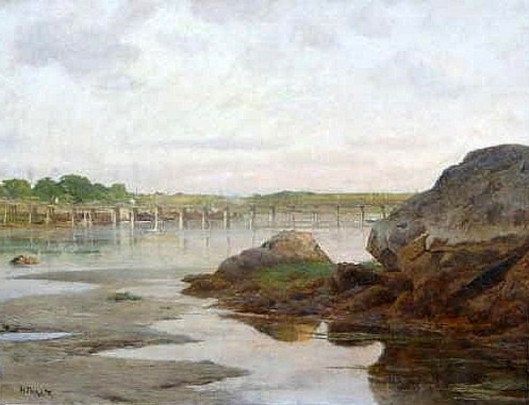 Causeway Across The Shore