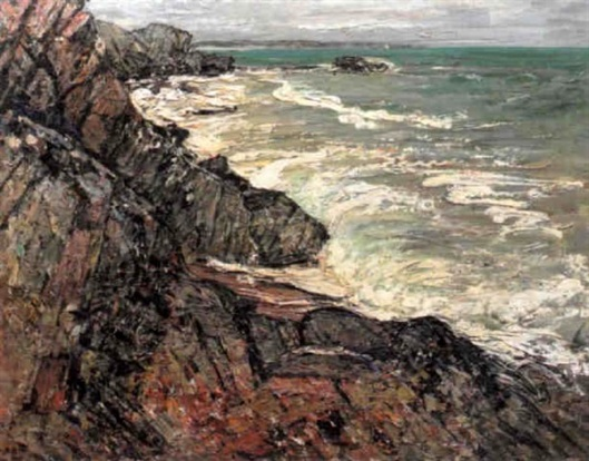 Storm On The Brittany Coast