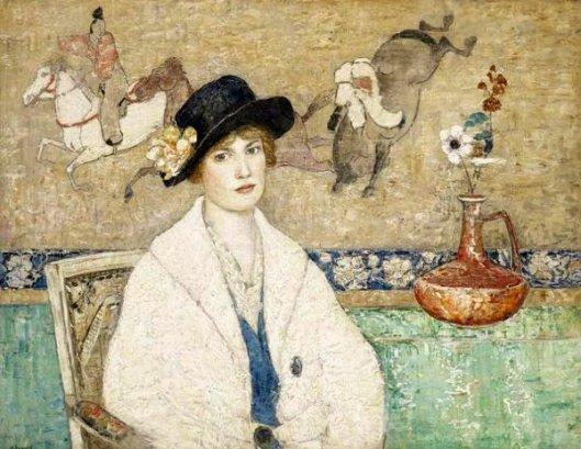 The Black Hat (Miss Dorothy Hart)