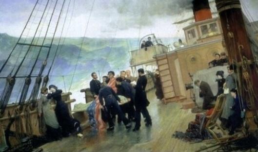 Funeral At Sea - Burial At Sea