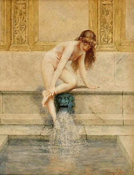 George W. Maynard - Nude Bathing