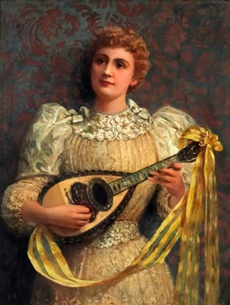 A Lady With A Mandolin