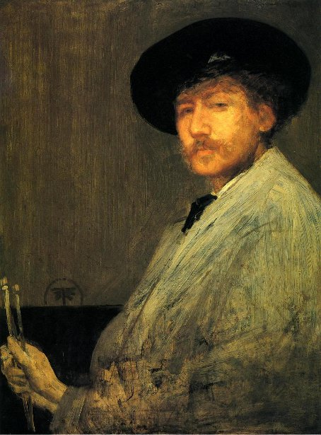 Arrangement In Grey - Portrait Of The Painter