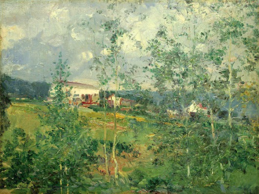 Hillside In Summer