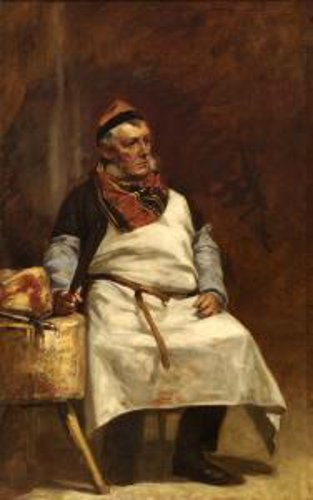 Portrait Of A Butcher