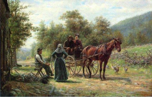 An Informal Call - Return To The Farm