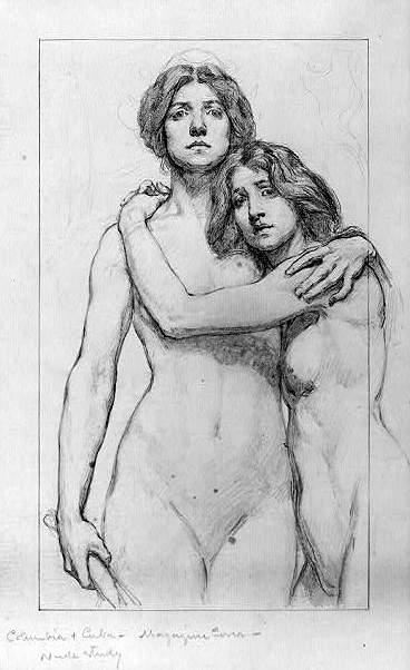 Columbia And Cuba - Nude Study