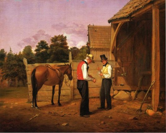 Barganing For A Horse